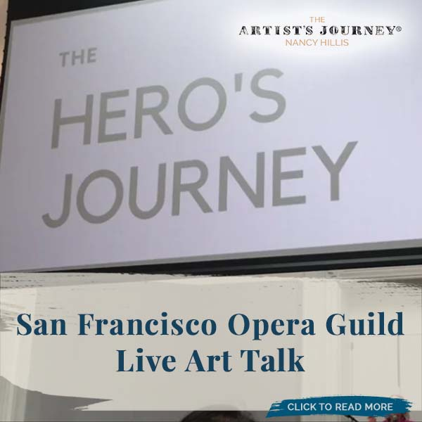 The Artist's Journey: The Hero's Journey In Art Talk
