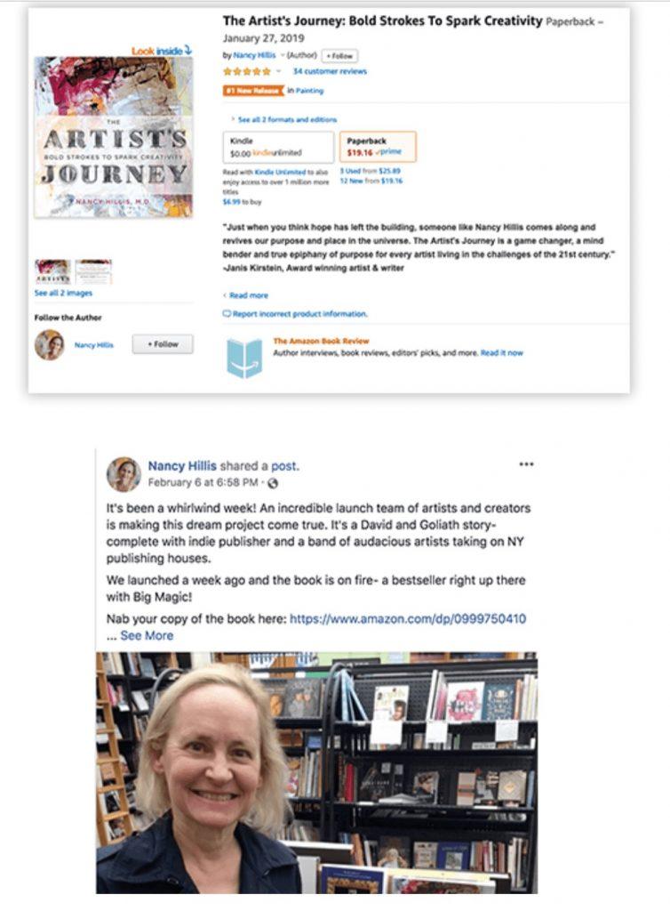 Nancy Hillis-Book Launch Results