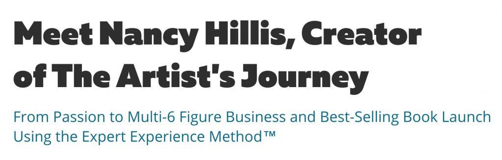 Meet Nancy Hillis, Creator of The Artist's Journey