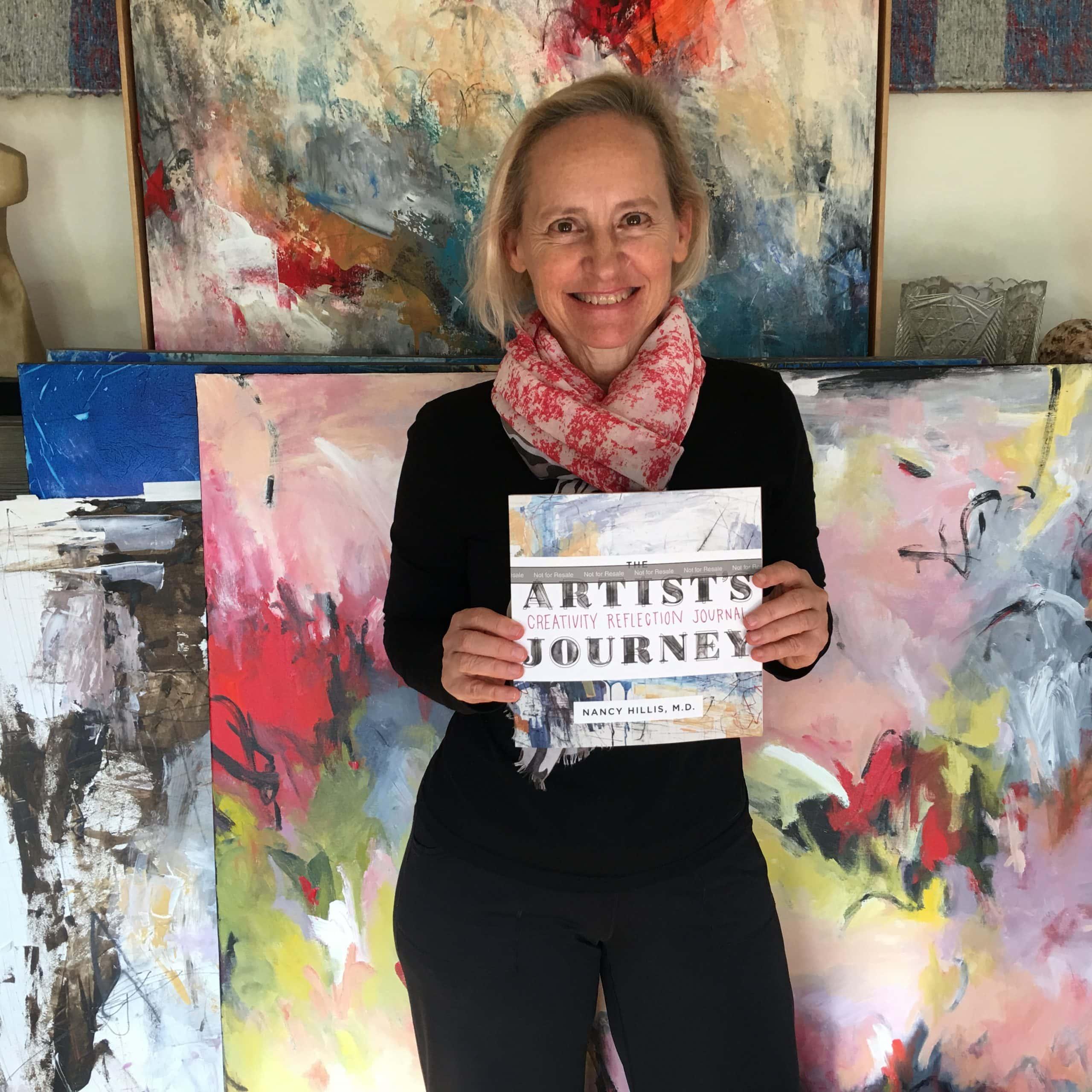 Nancy Hillis-The Artist's Journey Creativity Reflection Journall