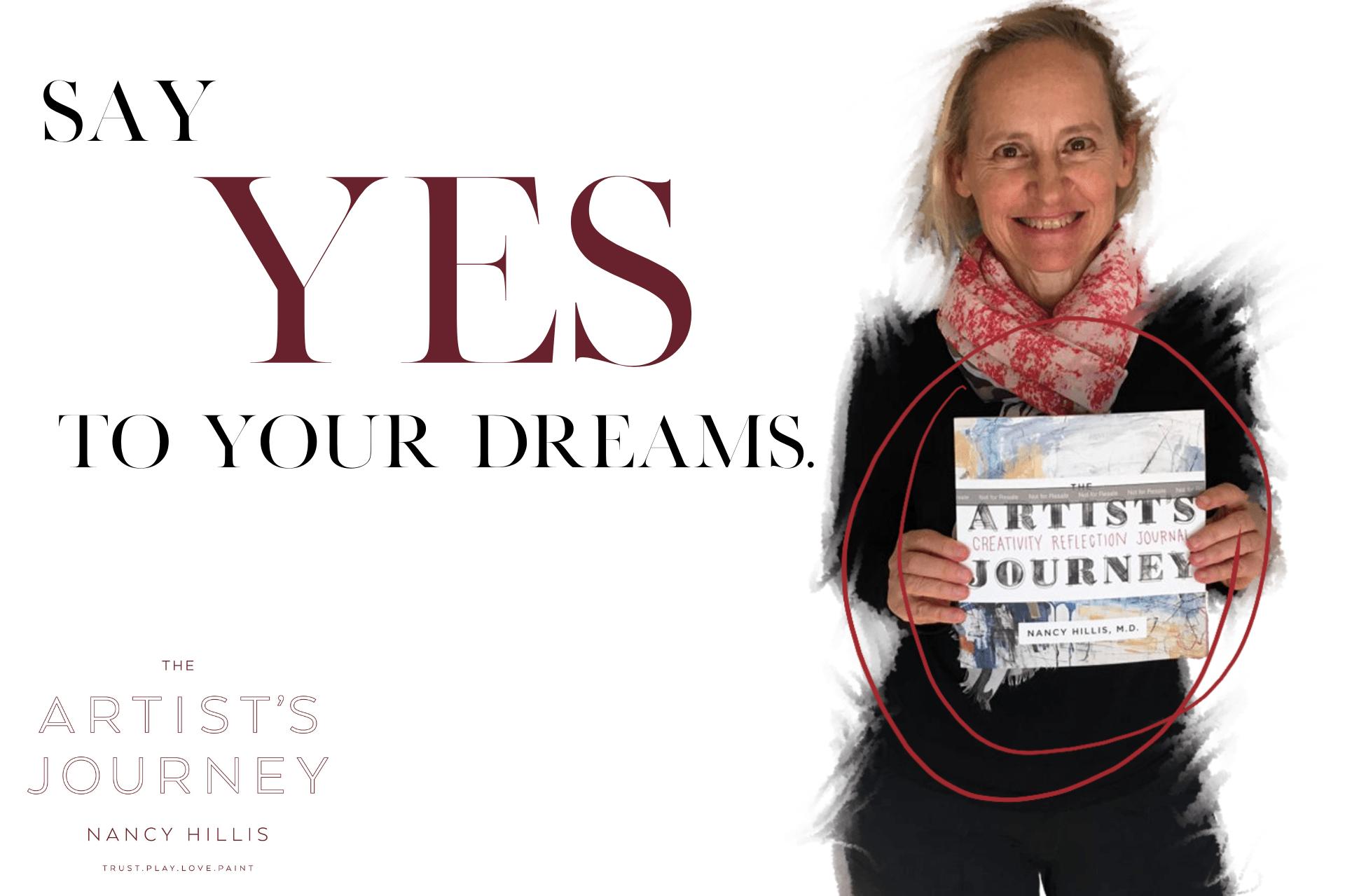 The Artist's Journey Creativity Reflection Journal- Nancy Hillis, MD