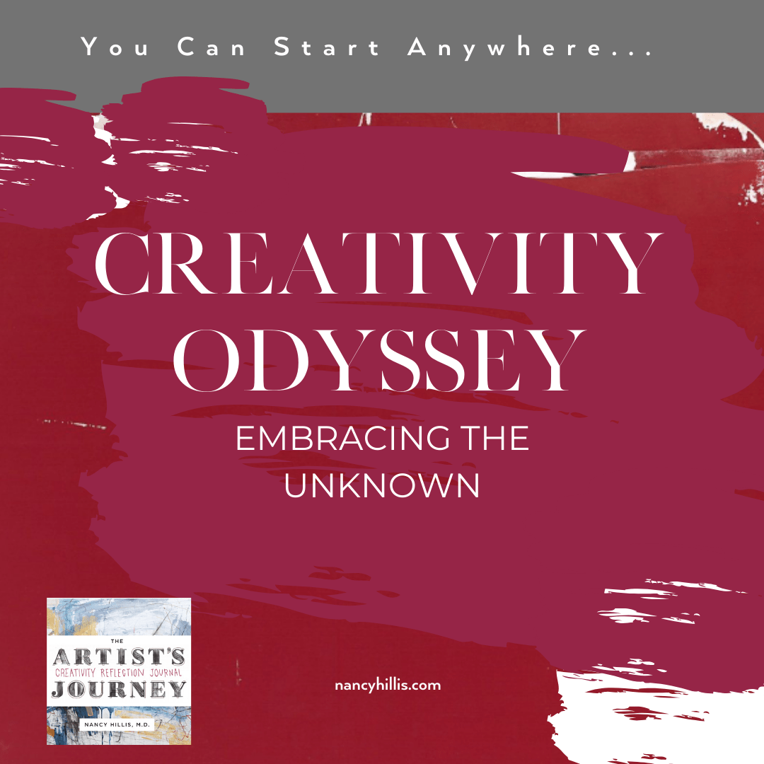 Creativity Odyssey: Embracing The Unknown