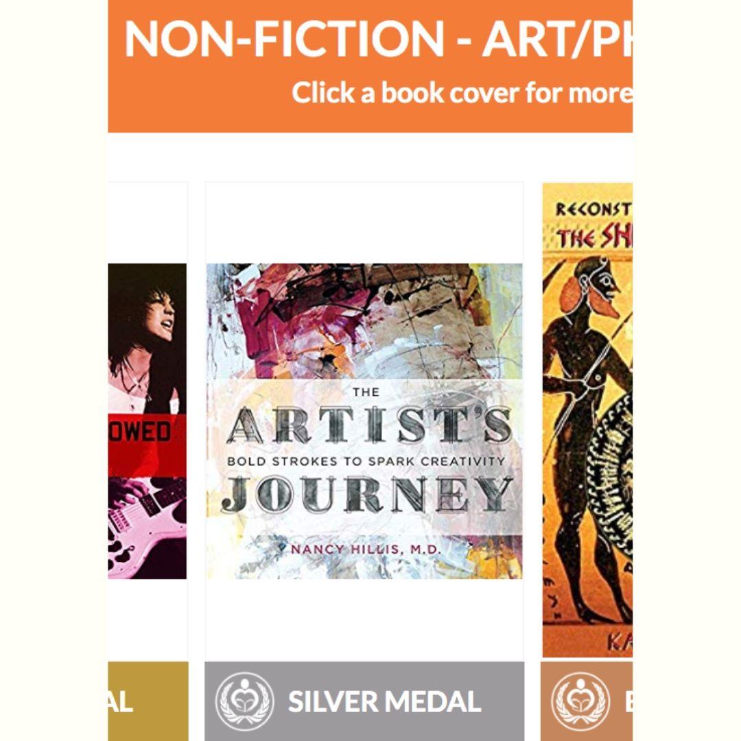 Silver Medal-Reader's Favorite International Book Award Winner-The Artists Journey-Nancy Hillis-