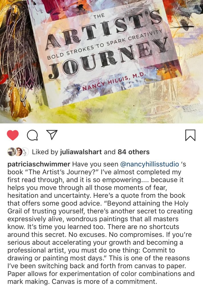 The Artist's Journey Book Review: Patricia Schwimmer