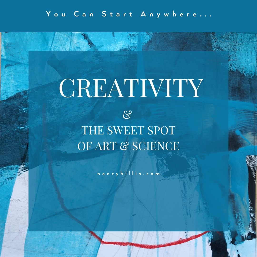 Creativity & The Sweet Spot In Art & Science