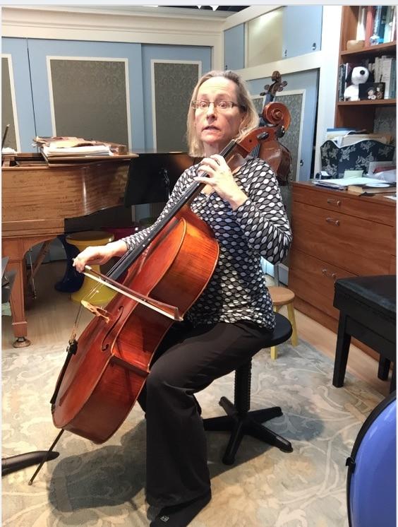 Cello- Nancy Hillis