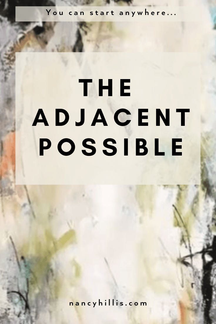 The Adjacent Possible-Nancy Hillis MD-You can start anywhere