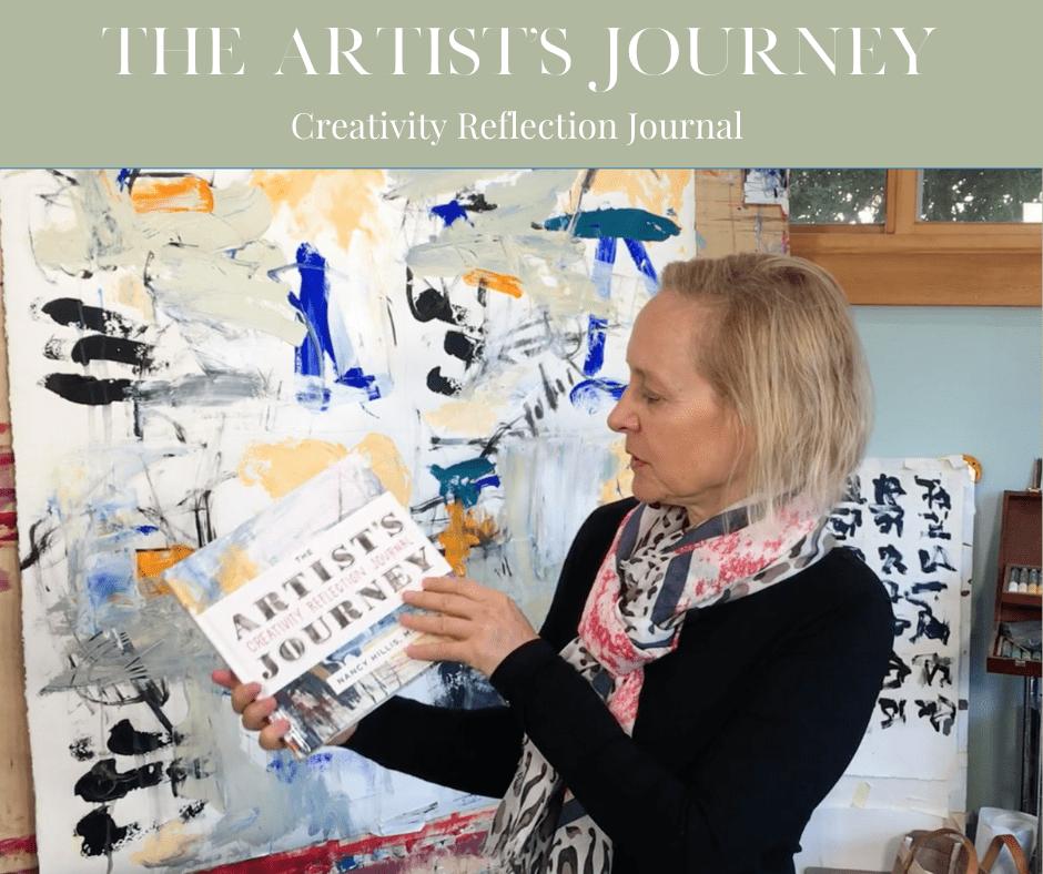The Artist's Journey Creativity Reflection Journal- Nancy Hillis MD