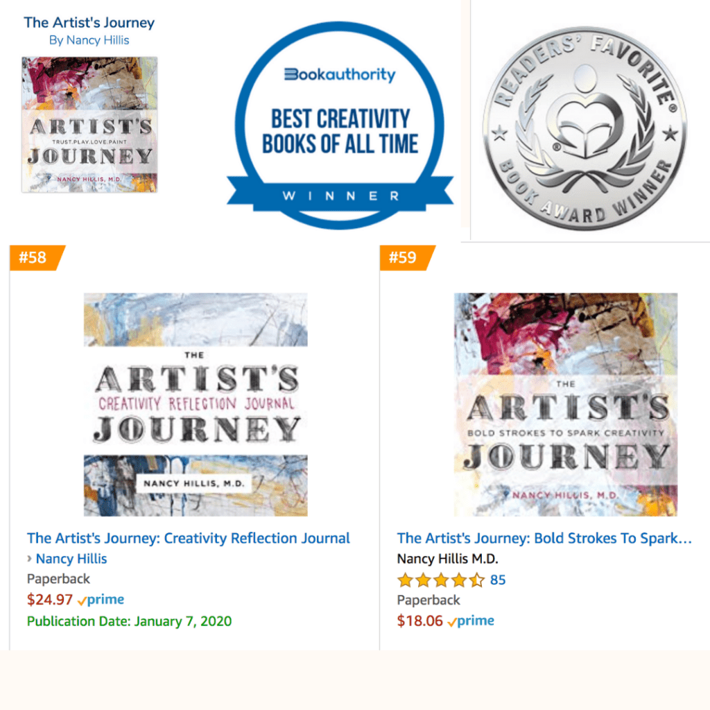 The Artists Journey books- Nancy Hillis MD