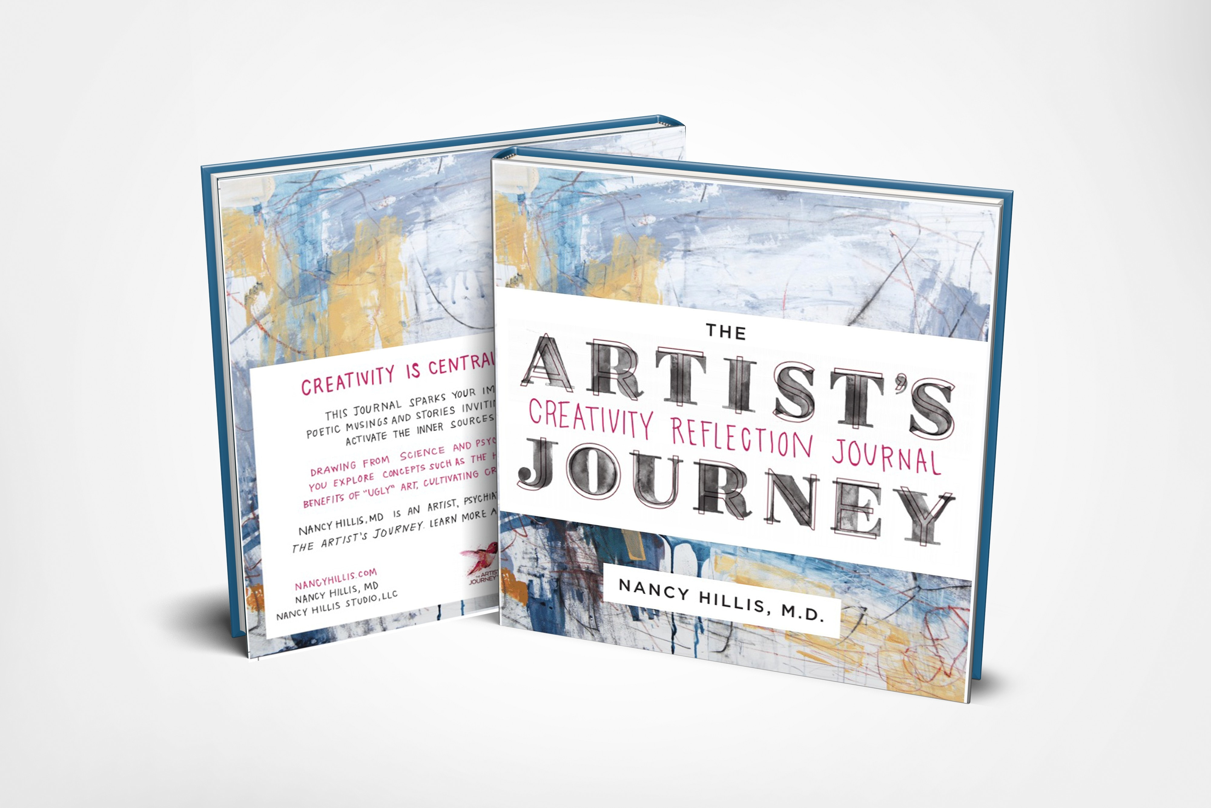 The Artist's Journey: Creativity Reflection Journal. A playfully illustrated self-help journal crafted to activate the inner sources of your creativity.