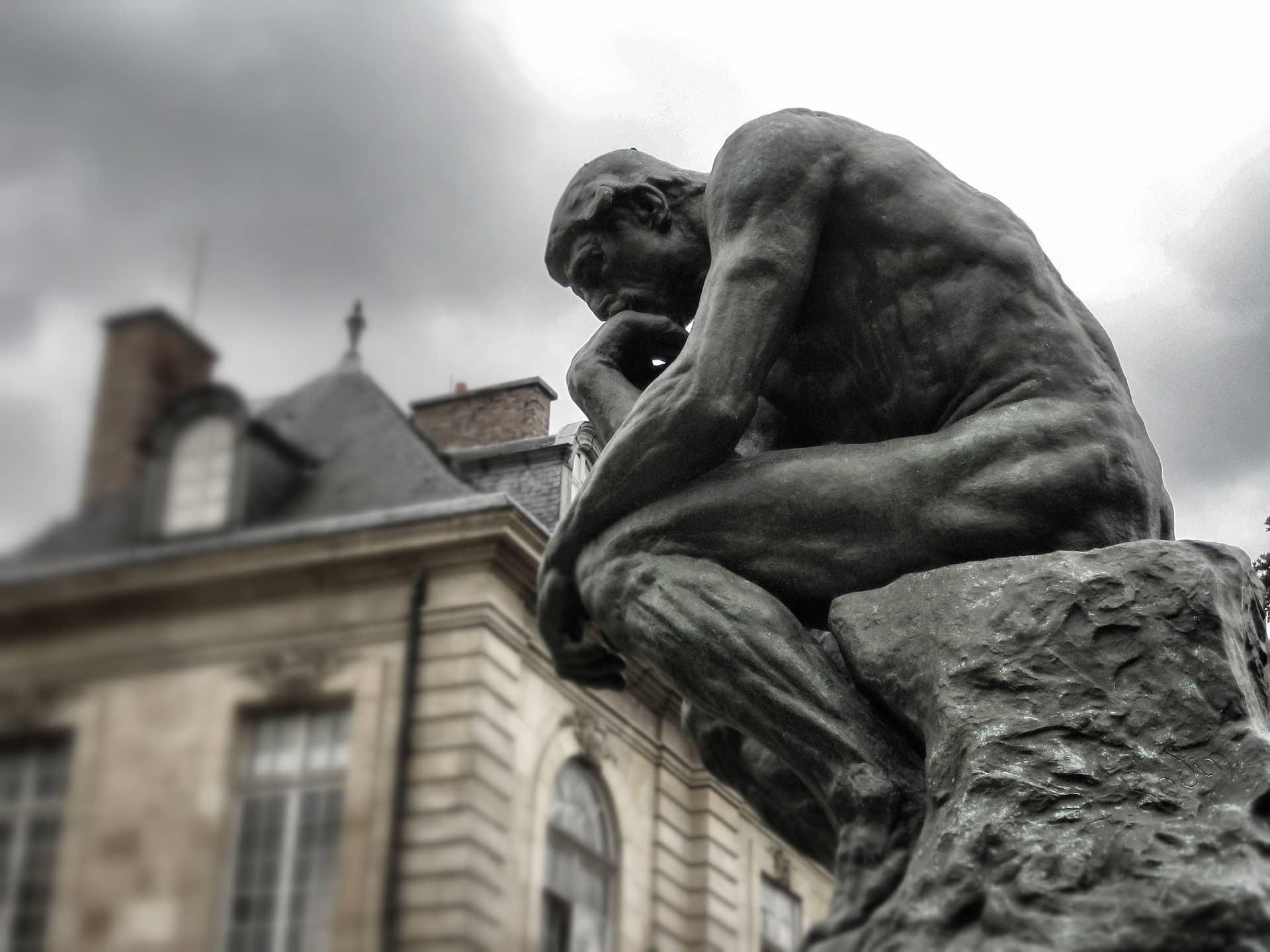The Thinker- Rodin- Creativity- Nancy Hillis MD and Bruce Sawhill PhD