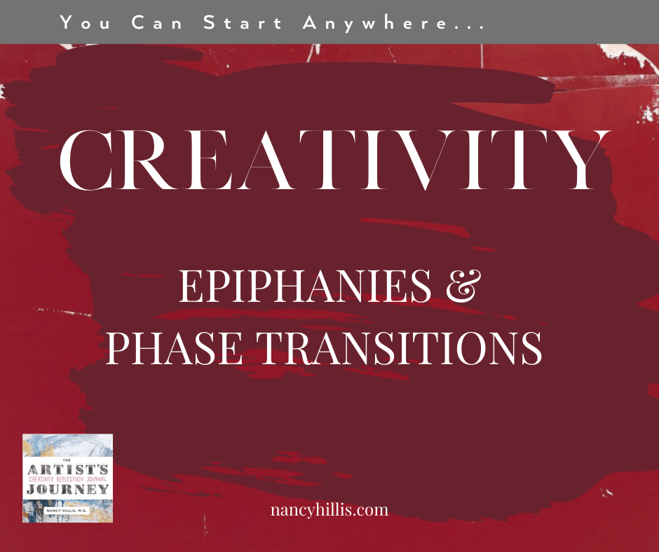 Creativity, Epiphanies & Phase Transitions