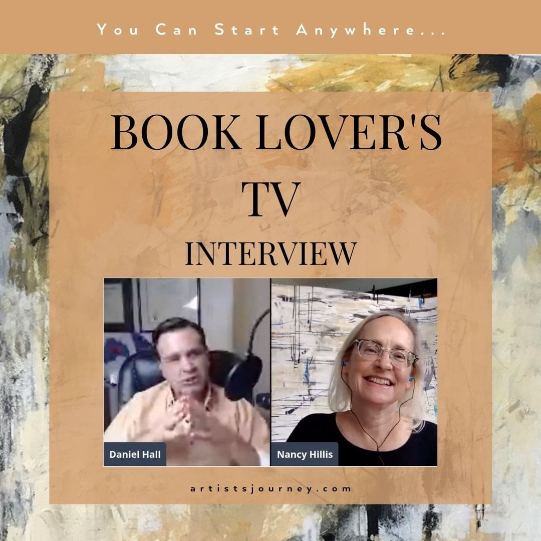 Book Lovers TV Interview- Nancy Hillis, Author of The Artist's Journey is interviewed by Daniel Hall