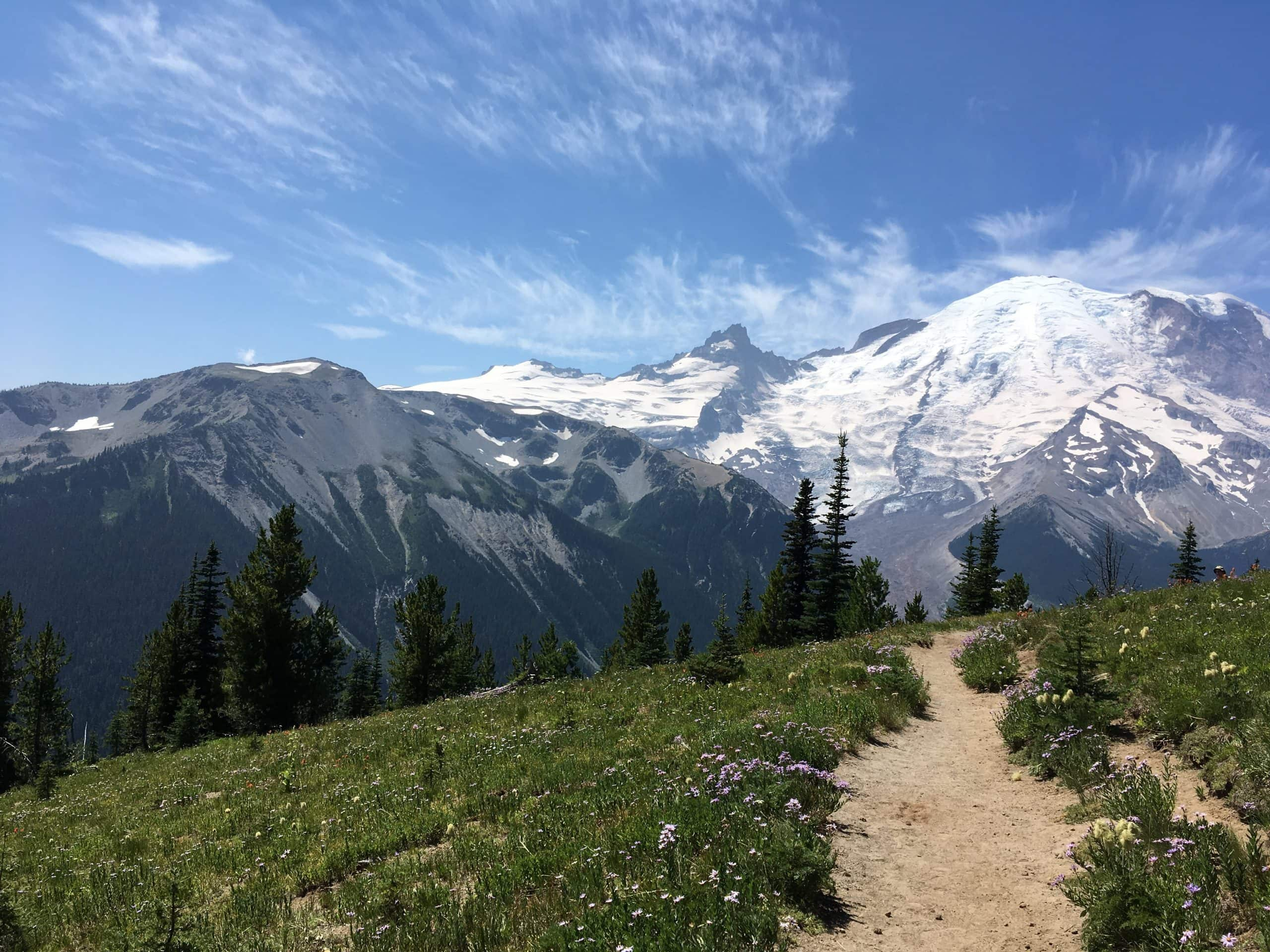 One of Bruce's favorite trails on Mt. Ranier