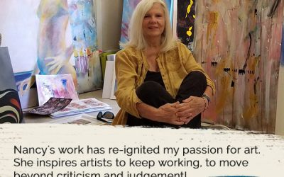 Audrey Sharon Taylor-Wood – Activate The Canvas & Artist's Journey® Book