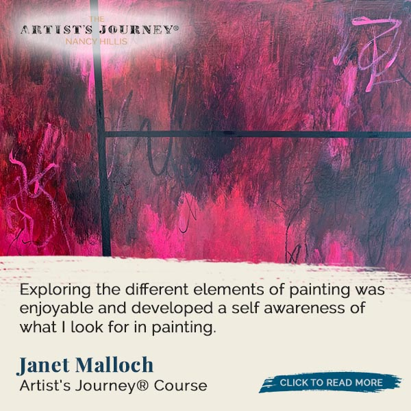 Janet Malloch – The Artist's Journey® Course