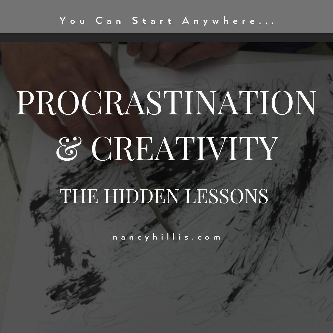 Procrastination & Creativity: The Hidden Lessons