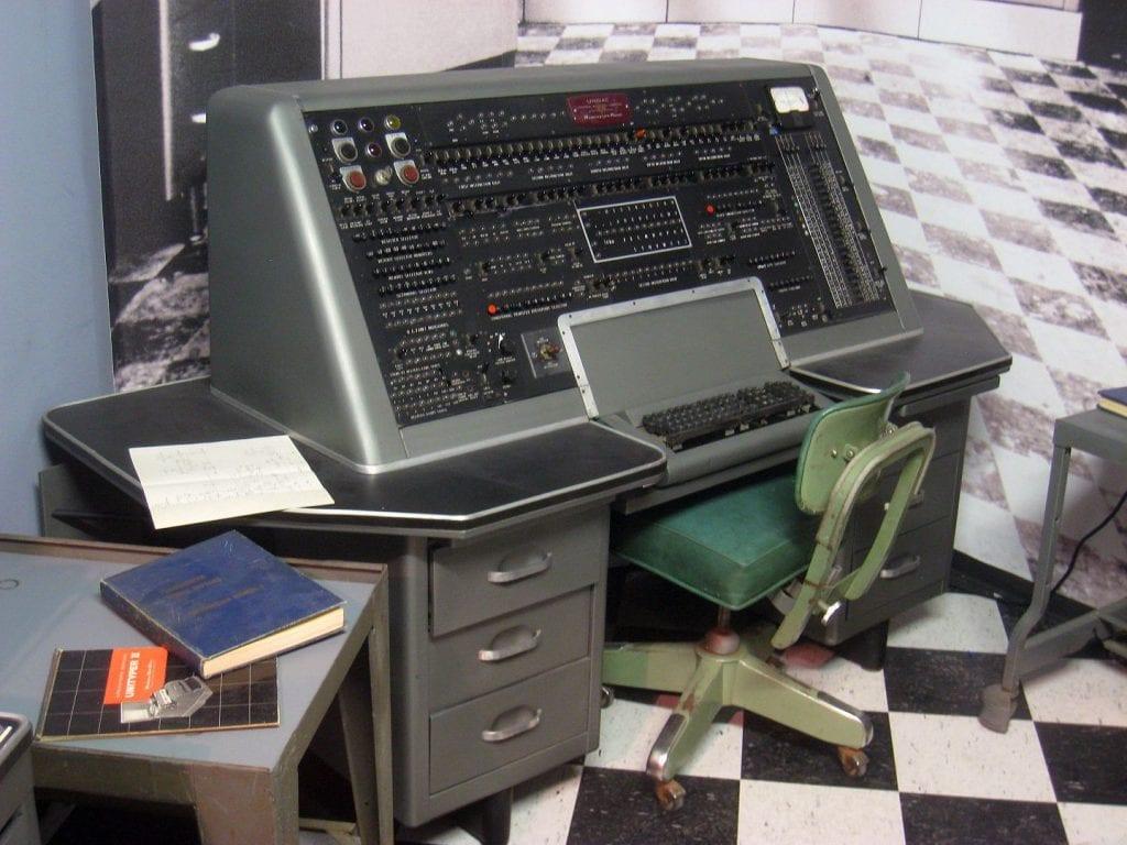 UNIVAC 1953- Museum of Science, Boston, Massachusetts