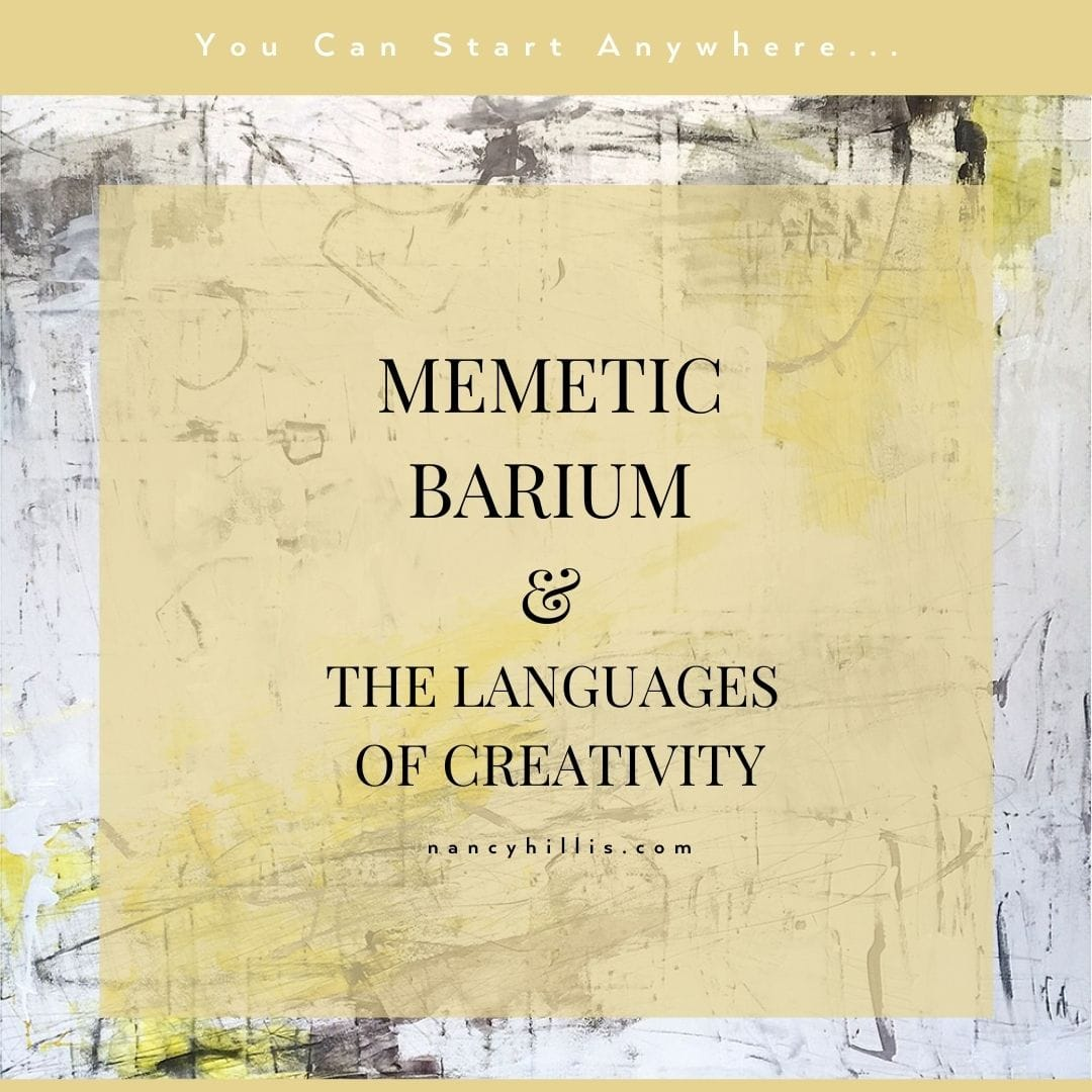 Memetic Barium & The Languages Of Creativity