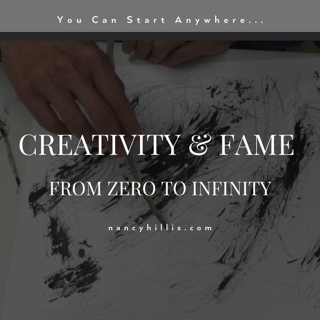 Creativity & Fame: From Zero to Infinity
