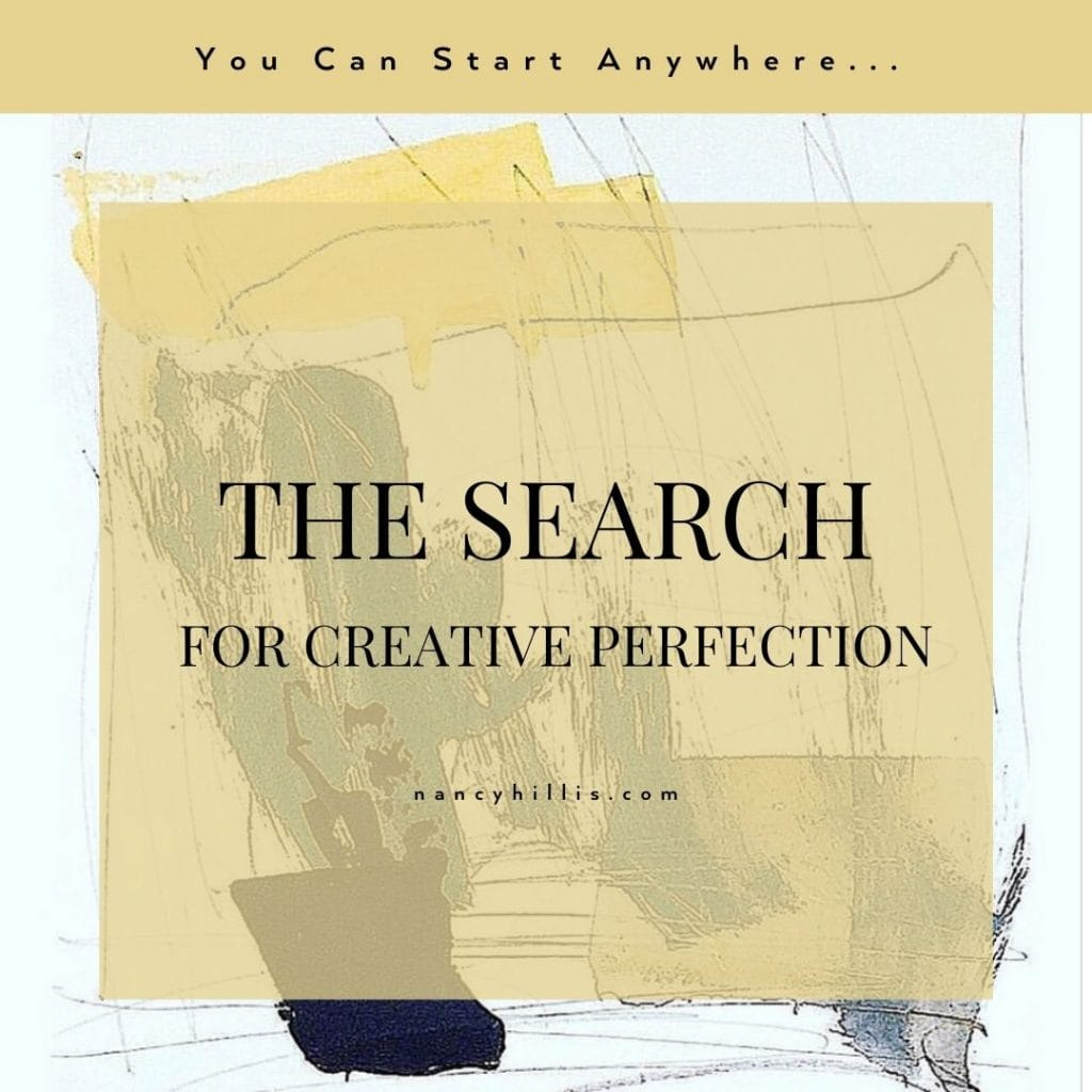 The Search For Creative Perfection- Nancy Hillis MD & Bruce Sawhill PhD