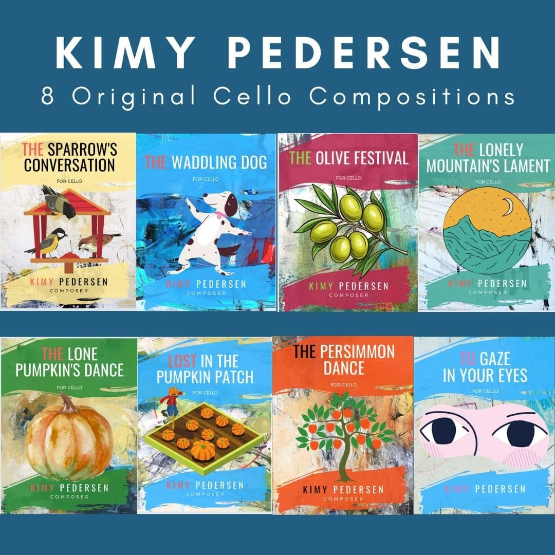 Kimy Pedersen- 8 Compositions- Sheet Music