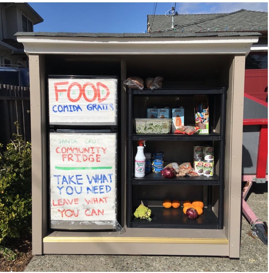 Give/Take Community Fridge With Enclosure