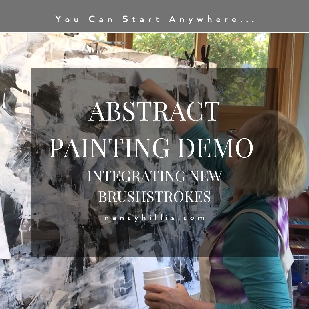 Abstract Painting-DEMO-Nancy Hillis MD