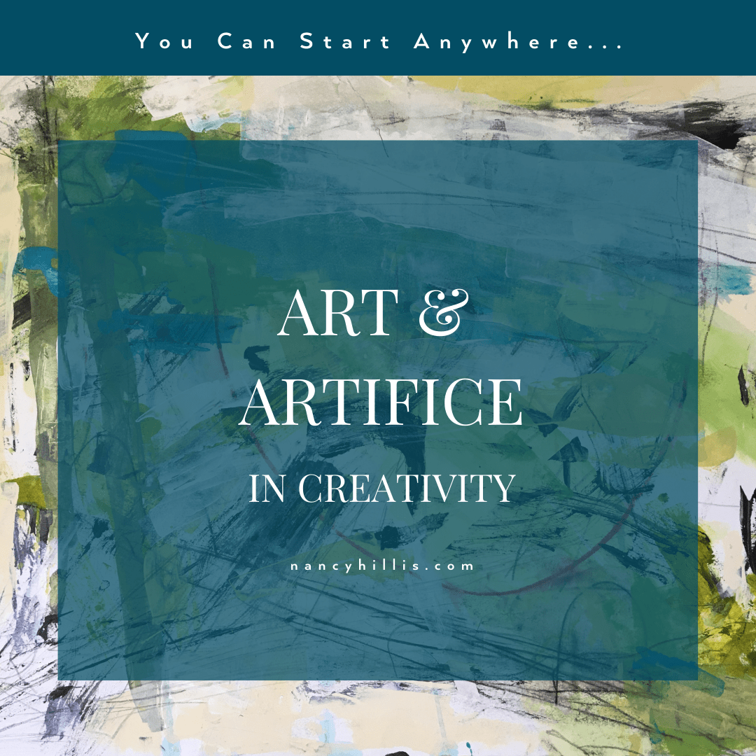 Art & Artifice In Creativity- Nancy Hillis MD & Bruce Sawhill PhD
