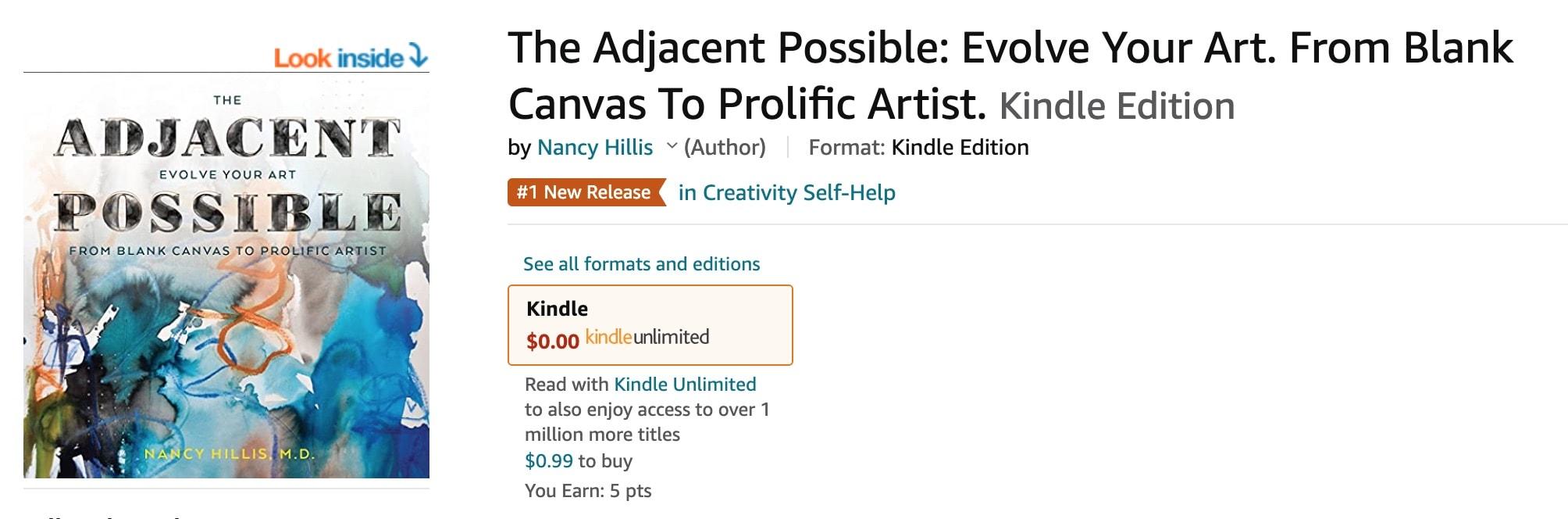 #1 New Release Creativity-Self-Help
