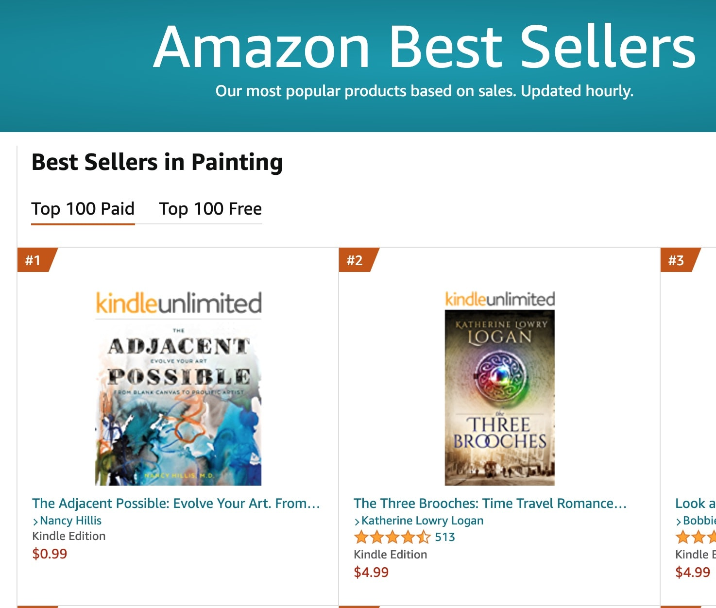 The Adjacent Possible- #1 Best Seller in Painting