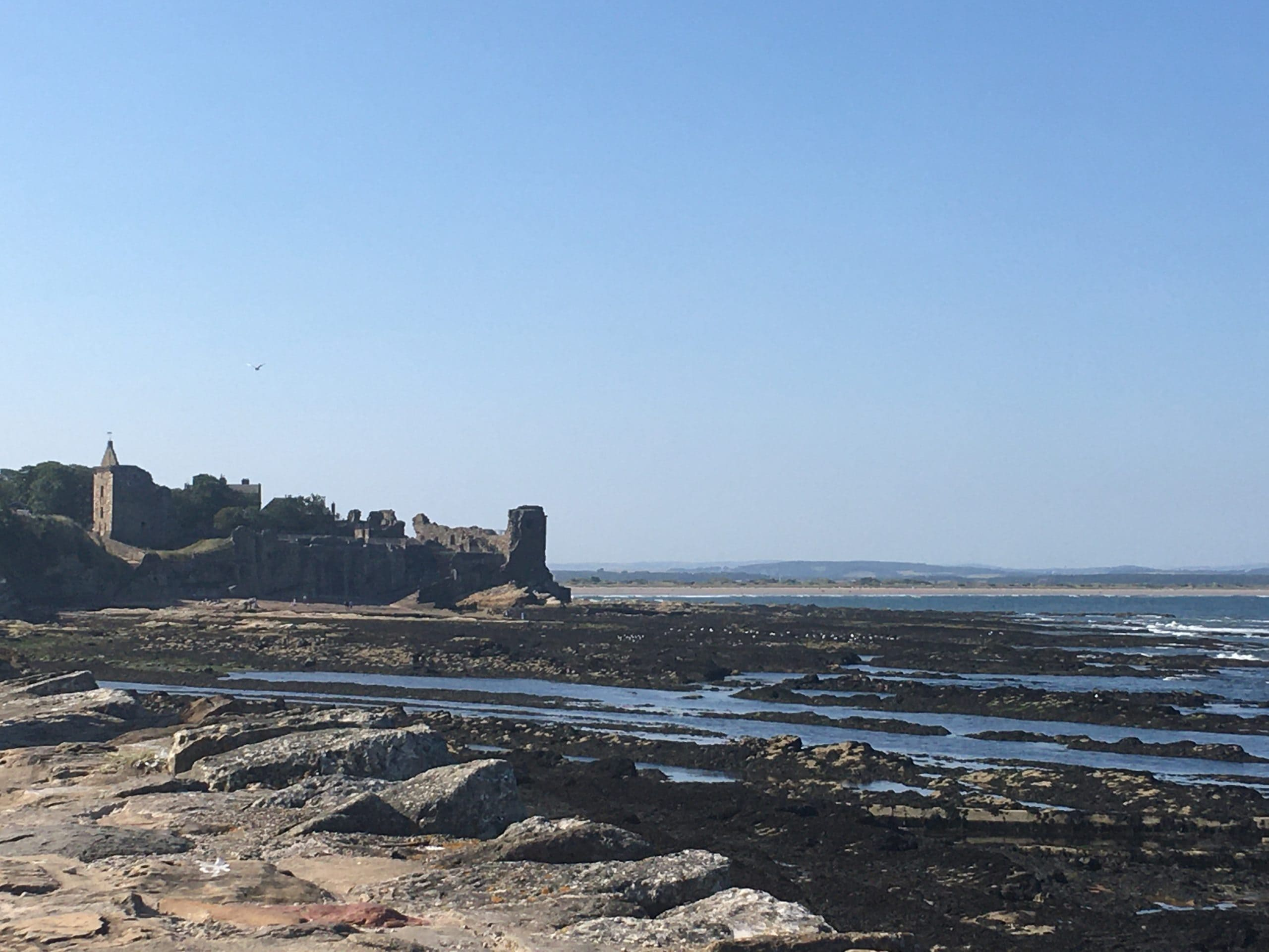 Looking back at the Ruined Castle